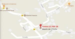 Le Centre LCC PEP 2B de L'Oretu di Casinca