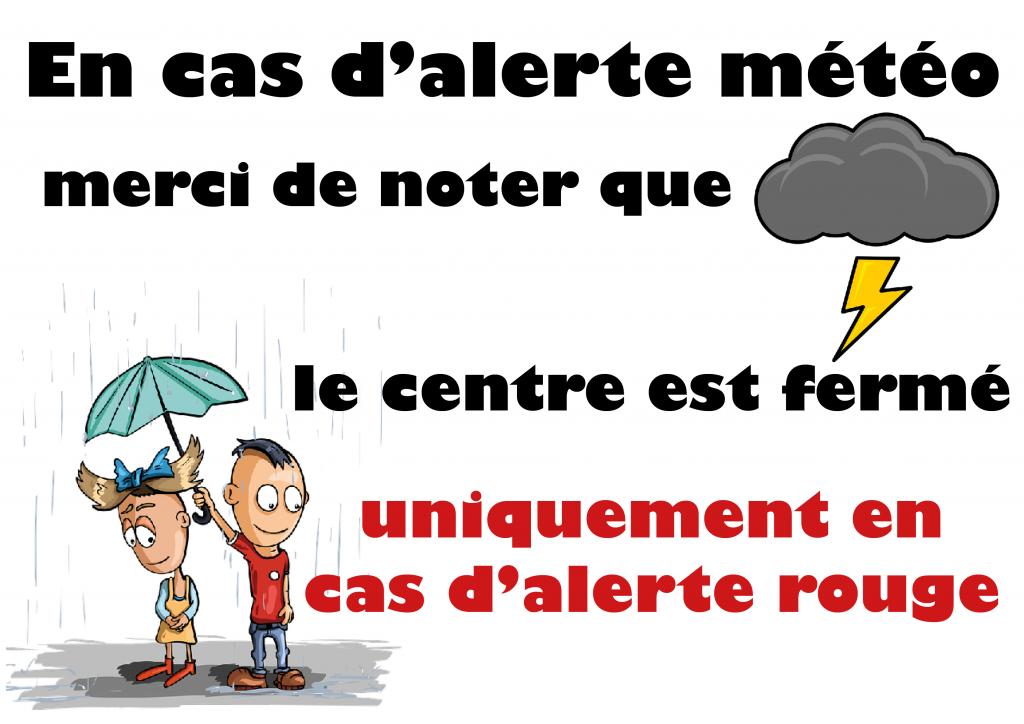 météo : alerte rouge