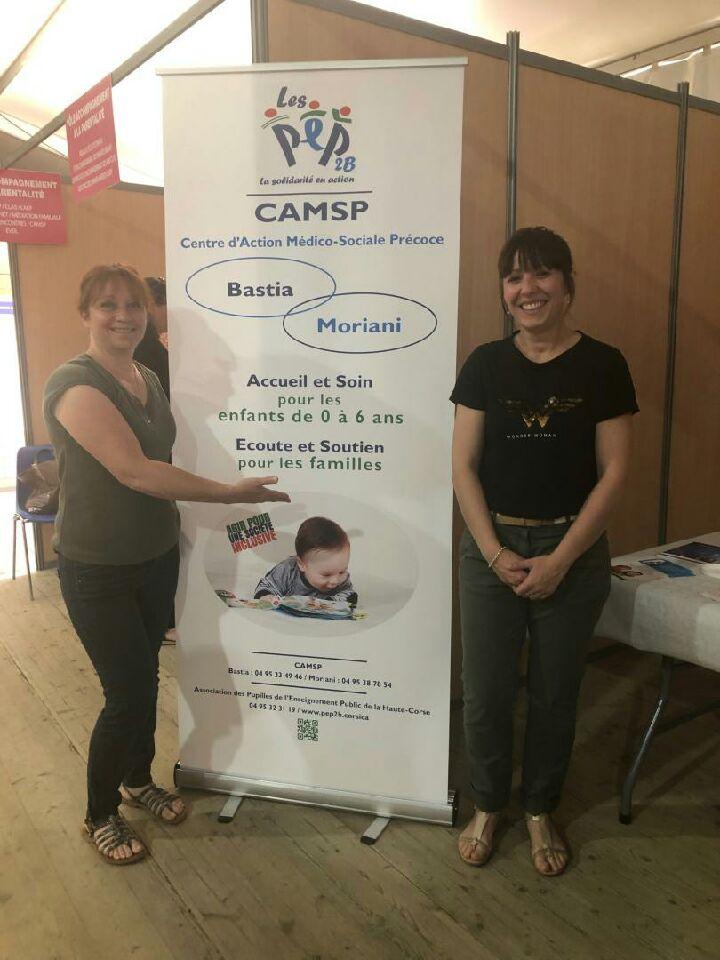 Enfance et Parentalité CAF avec le CAMSP PEP 2B