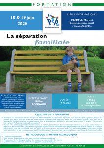 Formation PEP 2B FORMATION sur la séparation familiale pour les professionnels du médico-social