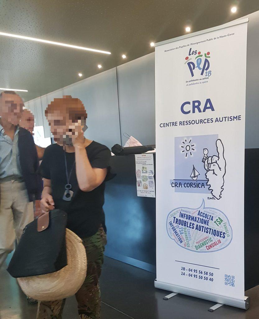 séminaire autisme bastia alb'oru 25.09.2019 avec le CRA CORSICA PEP 2B
