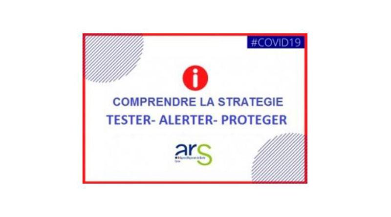 Covid-19 : Tester Alerter Protéger