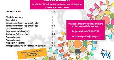 En Balagne au CAMSP-EDAP-CMPP